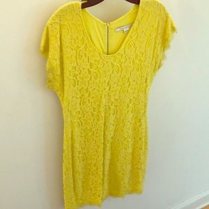 DVF Wanda lace dress, size 8